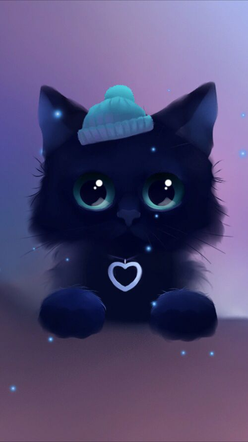 Pin By Shosho M F On Art Drawings Cute Animal Drawings Cute Animal Drawings Kawaii Cute Anime Cat