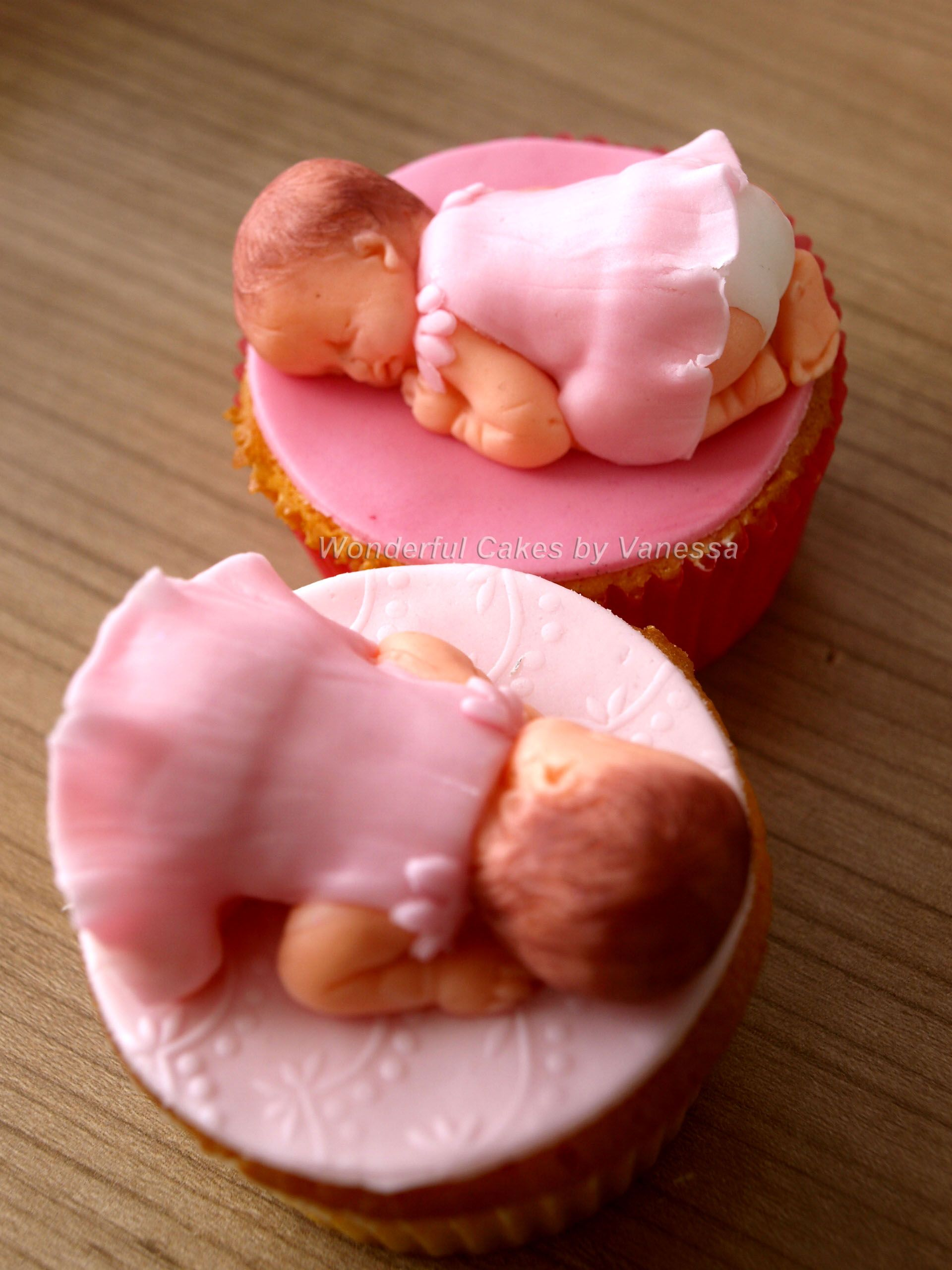 Baby cupcakes for the birth of my niece my own creations