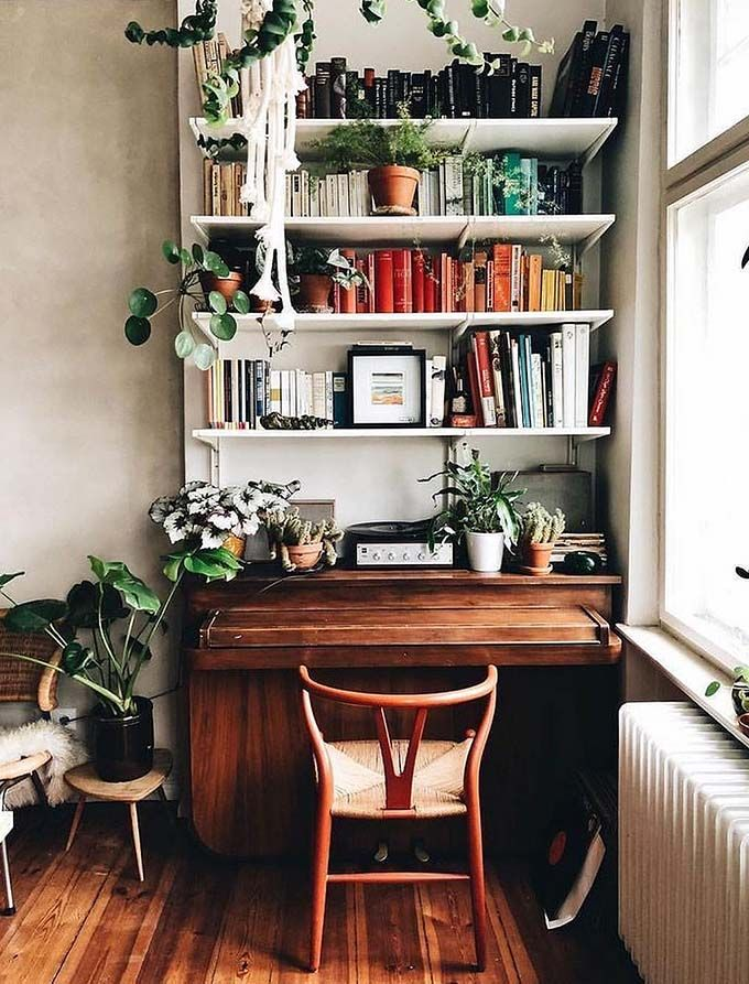 17 Stylish Ways To Display Bookshelves With A Lot Of Books Posh Pennies In 2020 Scandinavian Bookshelves Bookshelf Design Bookshelves Diy