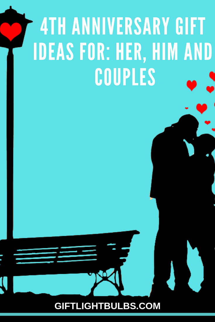 4th Anniversary Gift Ideas for Her, Him and Couples (With