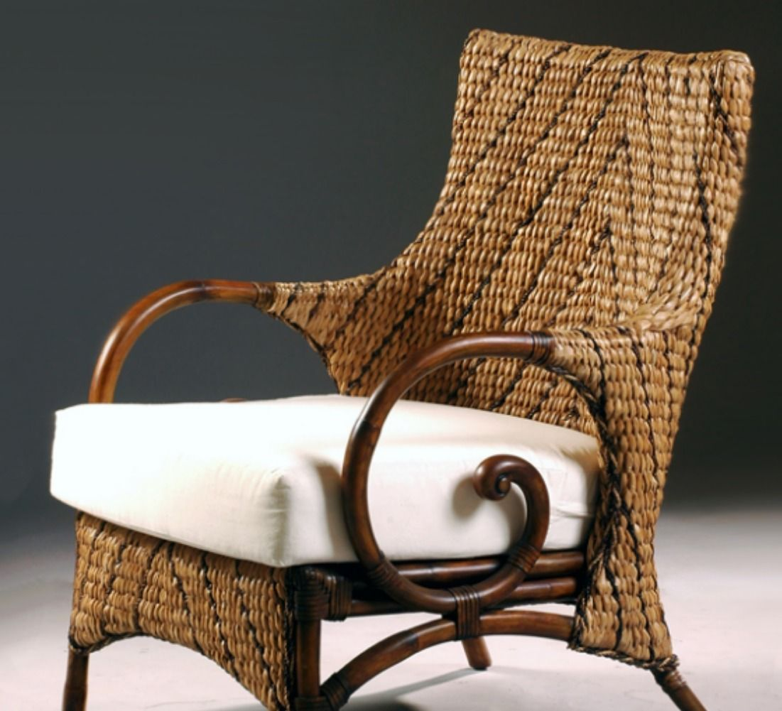 Rattan Lounge Chair Philippines With Its Traditional Design And Comfortable Cushion The