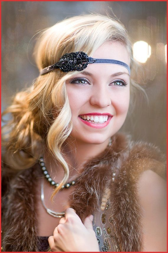 1920s Flapper Hairstyles For Long Hair Awesome Flapper Hairstyles For Long Hair New Years Eve 1920s Hairstyless In 2020 Charleston Kapsels Kapsels Halflange Kapsels