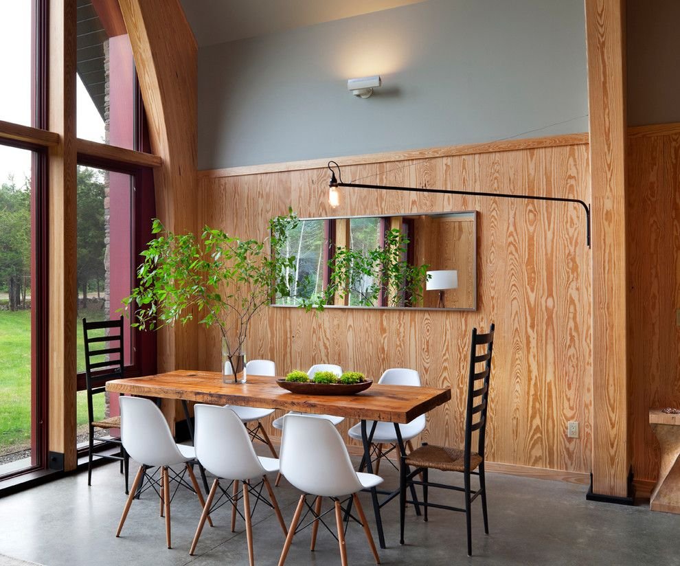 Hudson Passive Project   Modern   Dining Room   Other Metro   Barlis  Wedlick Architects, Hudson River Studio