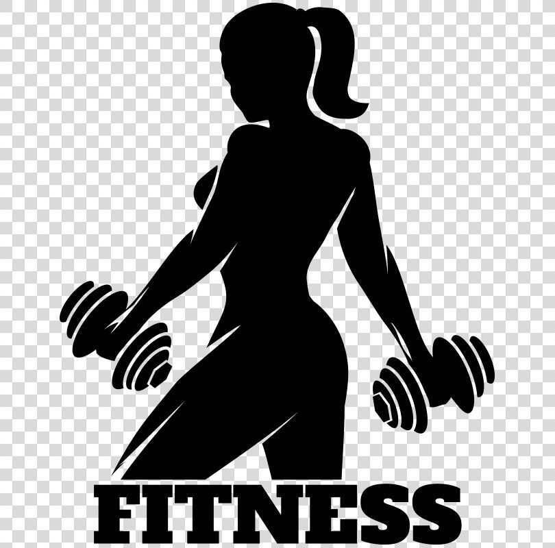Fitness Centre Silhouette Physical Fitness Fitness Pattern Fitness Png Fitness Centre Arm Black And White Physical Fitness Women Fitness Logo Fitness Icon