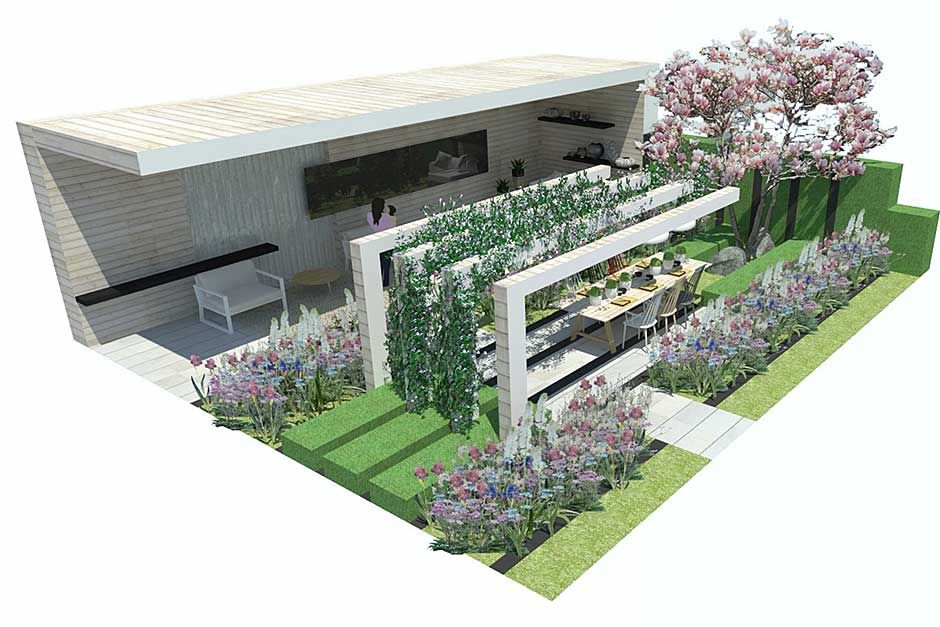 The LG Smart Garden At RHS Chelsea Flower Show 2016 / RHS Gardening