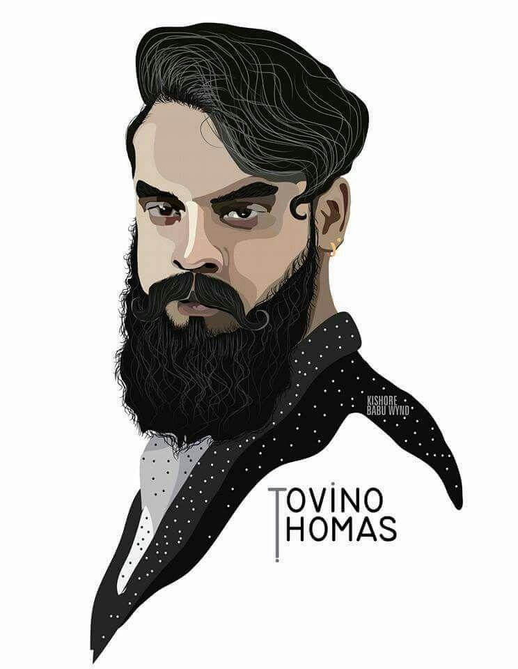 BEARD LOOK 👍 TOVINO THOMAS Beard drawing, Drawings