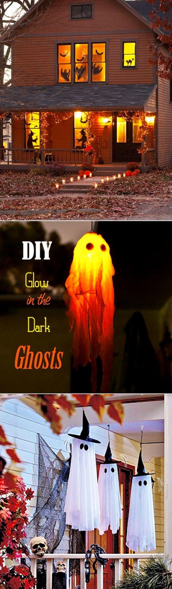 DIY Scary Halloween Decorations Diy outdoor halloween decorations - cool homemade halloween decorations