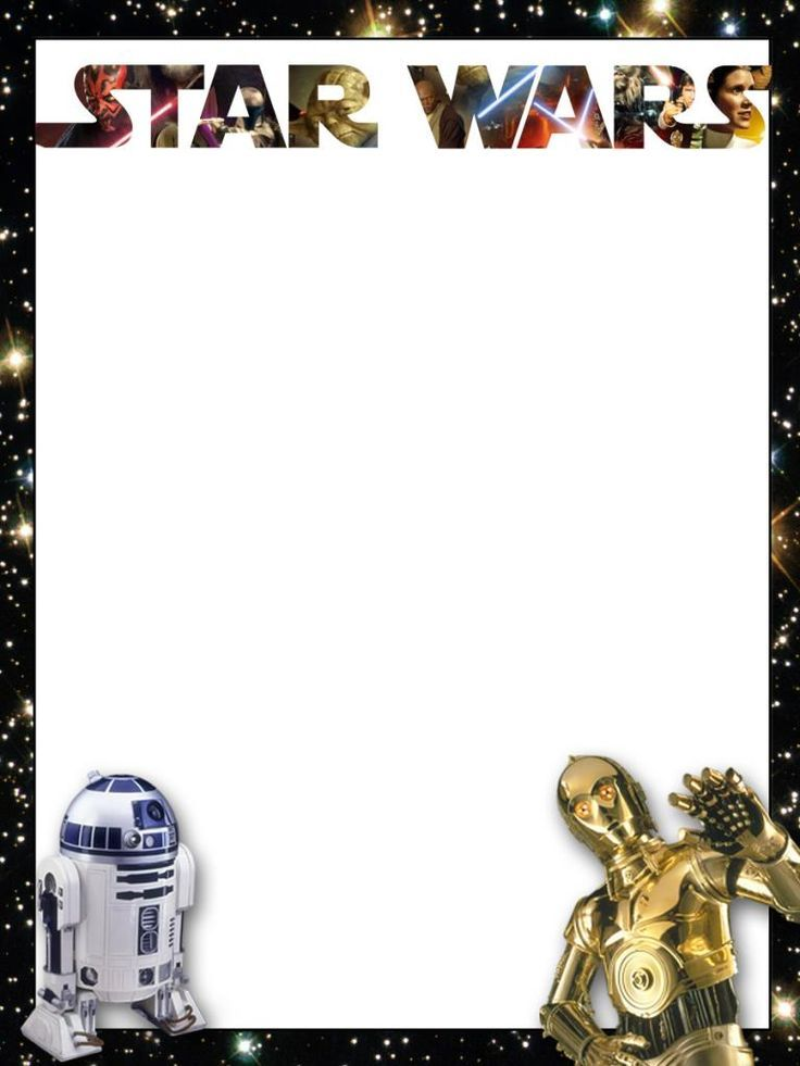 Star Wars Border Clipart - Clipart Kid   Starwars   Pinterest   Star