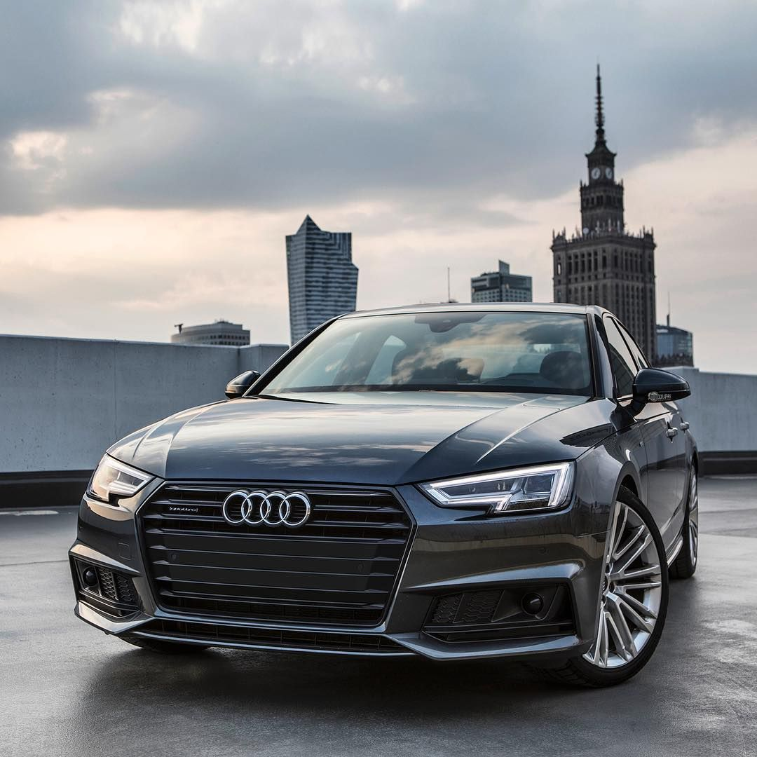 Mulpix I M A Big Fan Of The New A4 B9 And Especially In This Daytona Gray And Black Optics Package Gorgeous Car 2017 Audi Audi A4 Audi Cars New Audi Car