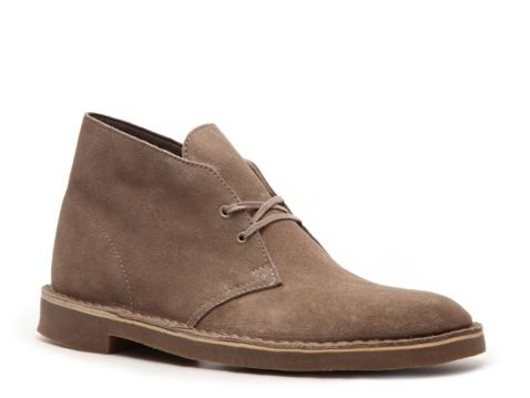 Clarks Men's Bushacre Suede Chukka Boot