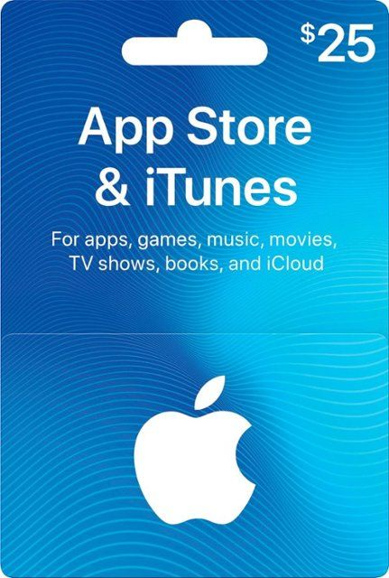 Apple 25 App Store & iTunes Gift Card ITUNES 0114 25