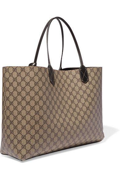 02487c0693a5 Gucci | Turnaround medium reversible leather tote | NET-A-PORTER.COM ...