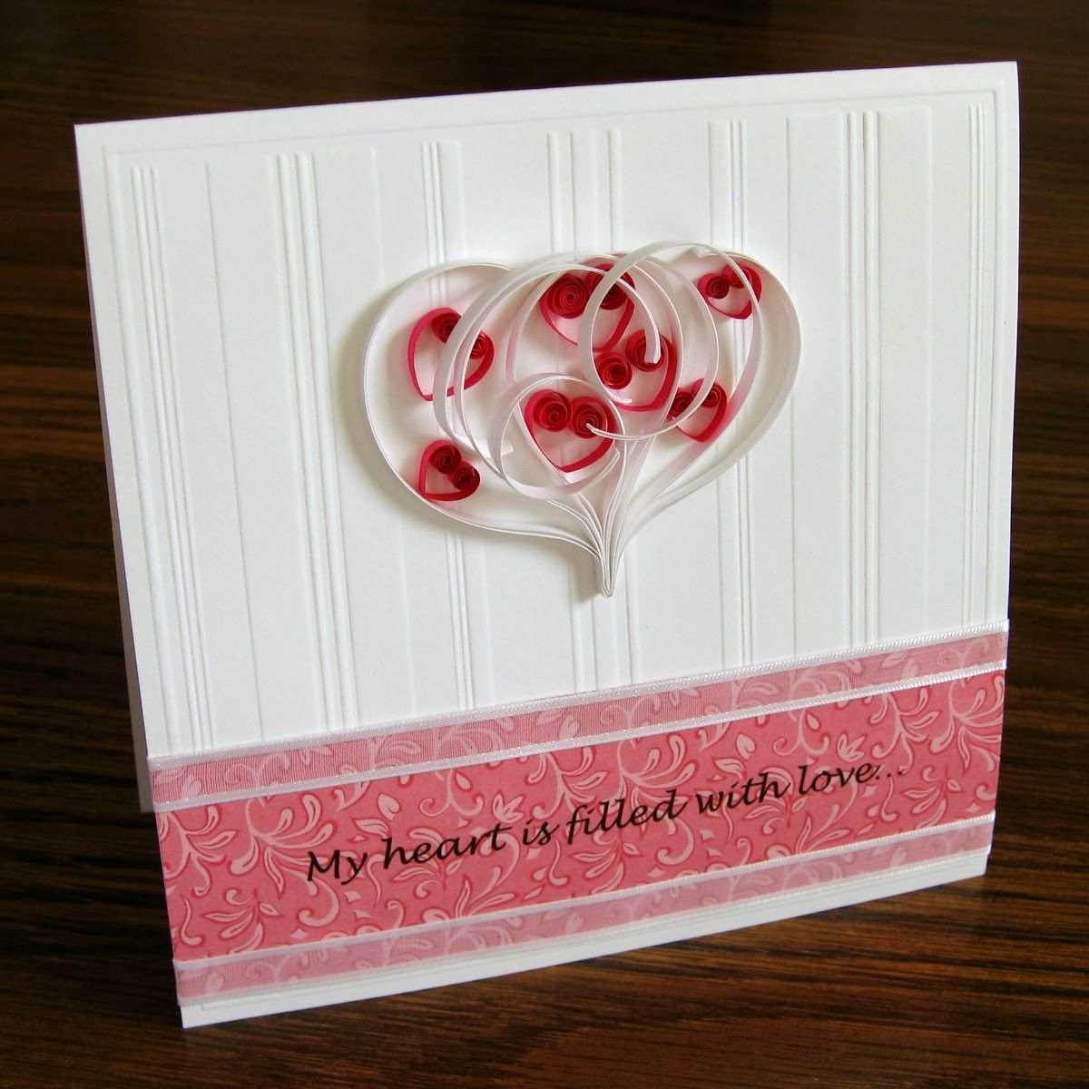 Quilled Valentine Tutorial by Ann Martin | Paper crafts | Pinterest ...