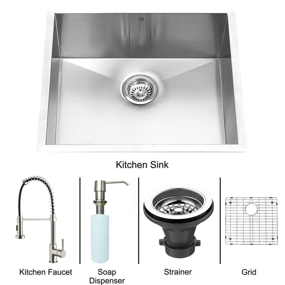 Stainless Steel Undermount Kitchen Sink Faucet Grid Strainer