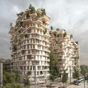 The Compact Wooden City: A Life-Cycle Analysis of How Timber Could Help Combat Climate Change Sou Fujimoto and Laisné Roussel's proposal for a tall wooden building in Bordeaux. Image © SOU FUJIMOTO ARCHITECTS + LAISNÉ ROUSSEL + RENDERING BY TÀMAS FISHER AND MORPH