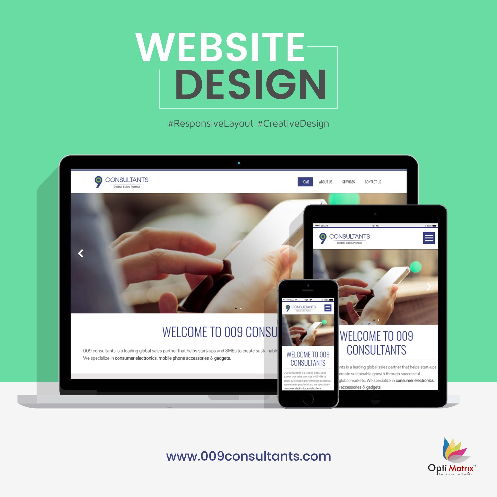 Simple And Attractive Website Design It S Live Now Website Webdesign Weblayout Responsive Responsiveweb Website Design Web Layout Website Development