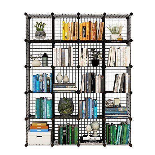 Toy Storage Ideas Tespo Metal Wire Storage Cubes Modular