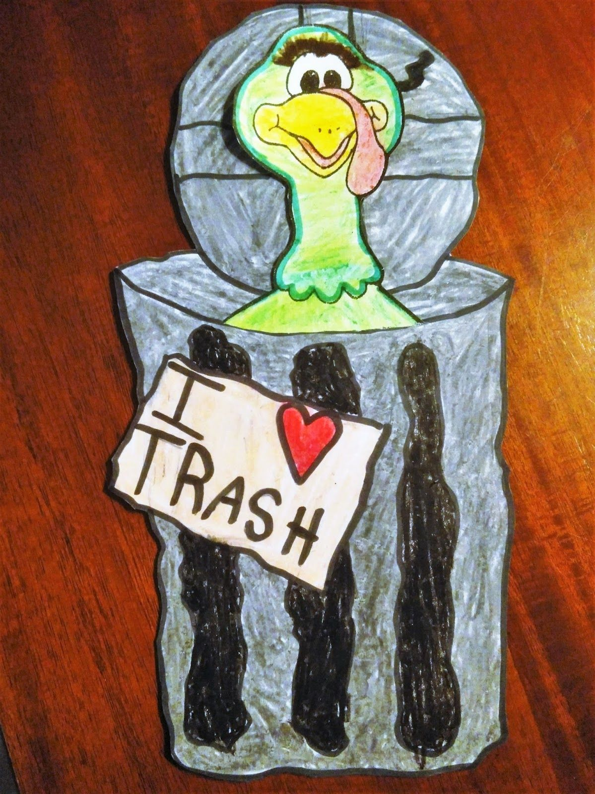 My Busy Beehives...: Best Dressed/Disguise a Turkey... Oscar the Grouch #disguiseaturkeyideas