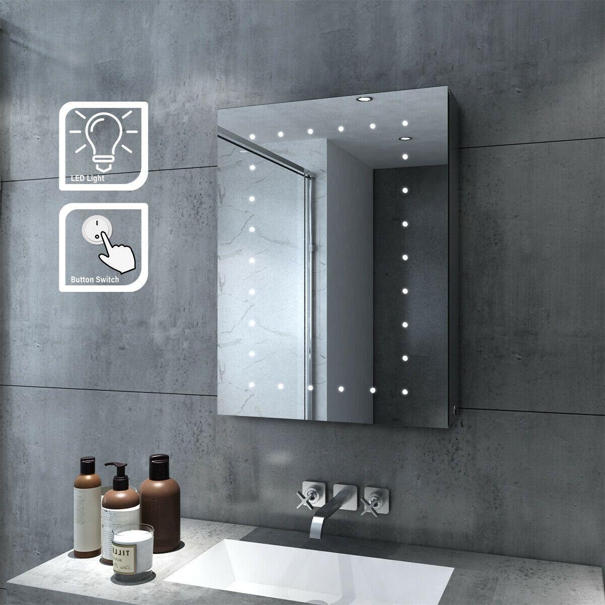 Led Bathroom Cabinet In 2020 Modern Bathroom Mirrors Bathroom Mirror Cabinet Mirror Cabinets