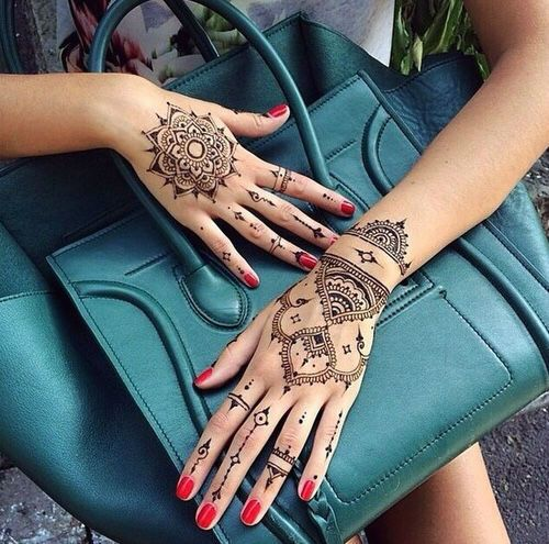Inflicting Ink Tattoo Henna Themed Tattoos: 40 Delicate Henna Tattoo Designs