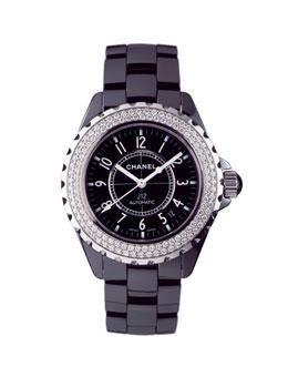 f298ab48f5e Chanel J12 Diamond Automatic Watch. 38mm. High Tech Ceramic Case    Bracelet
