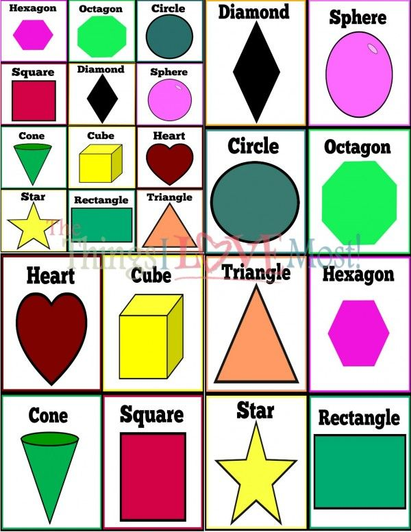 learning shapes while having fun free printable pre k learning