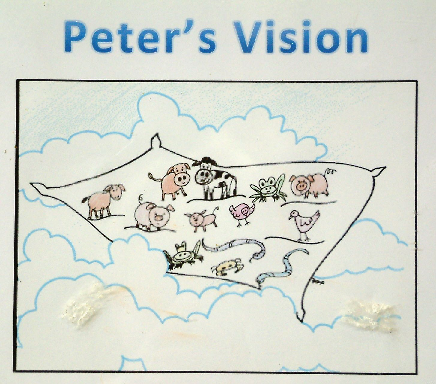 Peter And Cornelius Sunday School Craft
