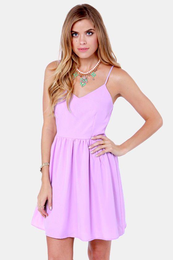Baking Beauty Lavender Dress at Lulus.com!