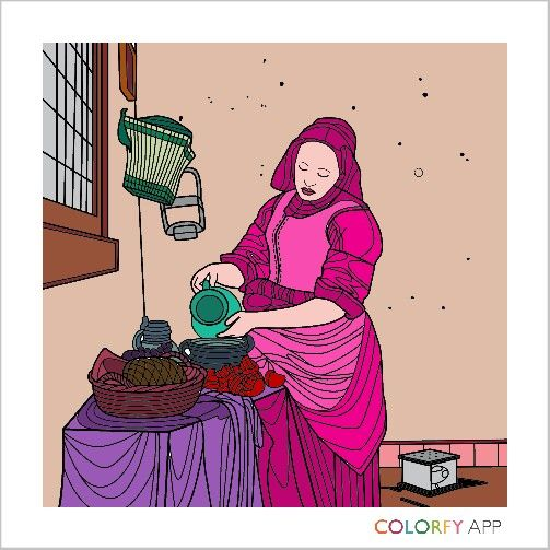 Color A Beautiful Artwork Using Colorfy