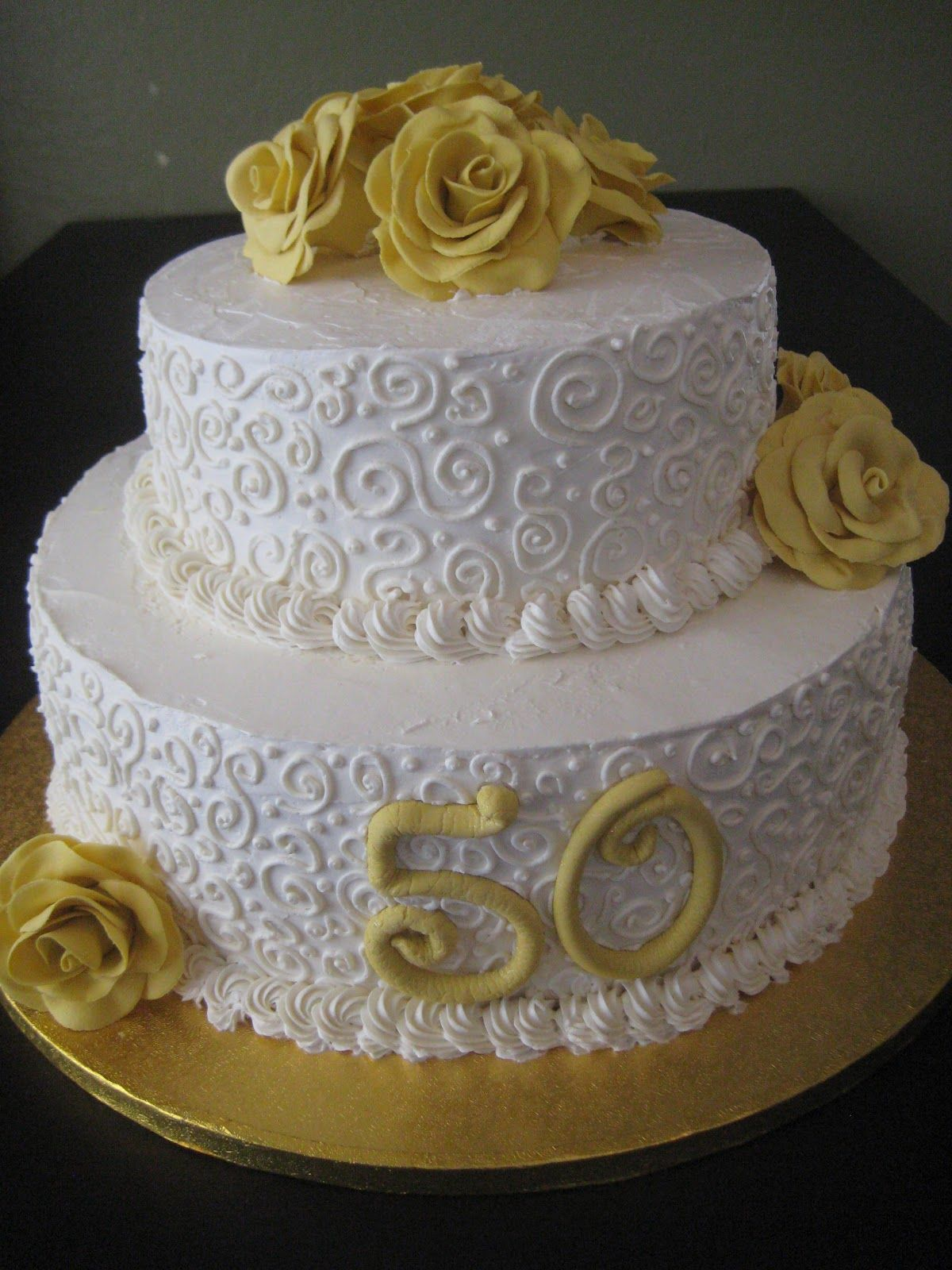 50th birthday cake ideas 50th wedding anniversary cakes posted by thenaughtytarte 1135