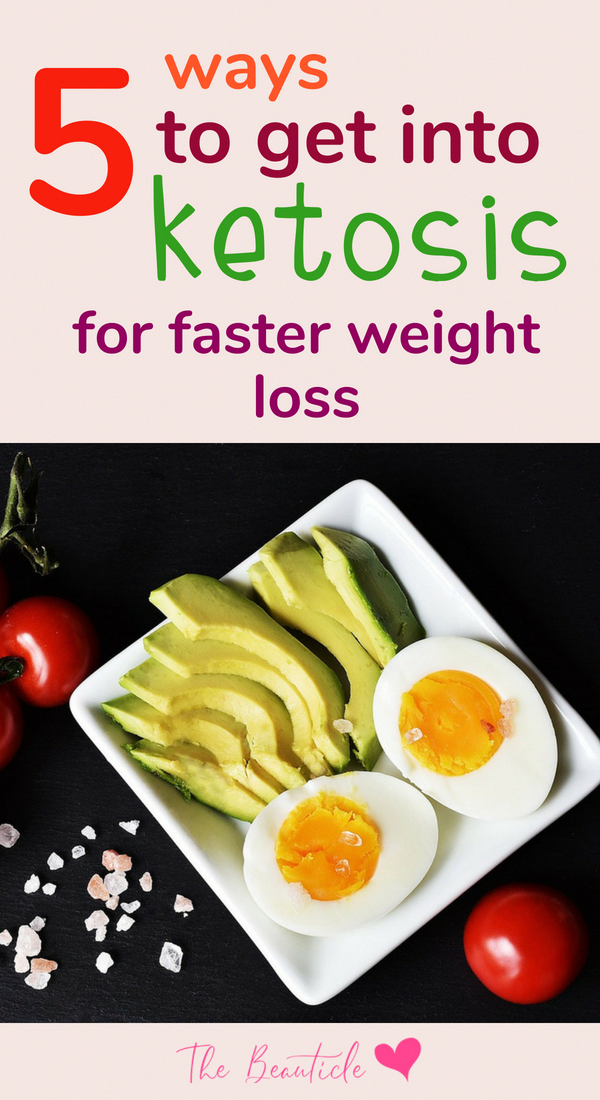 How to put your body into ketosis for faster weight loss and results on the keto diet #keto #KetoDietFriendlyFoods