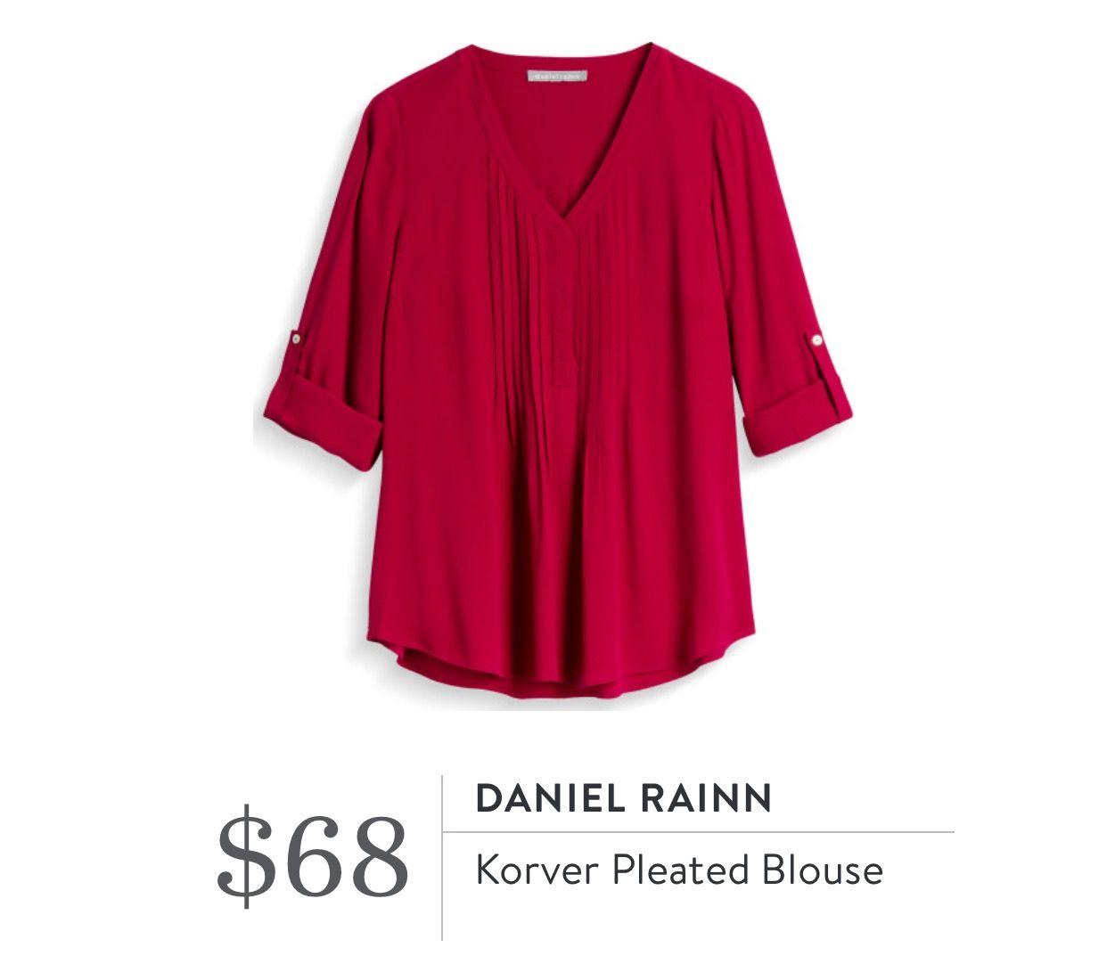 6e1a7bb943102b Daniel Rainn Bilson Pleated Blouse
