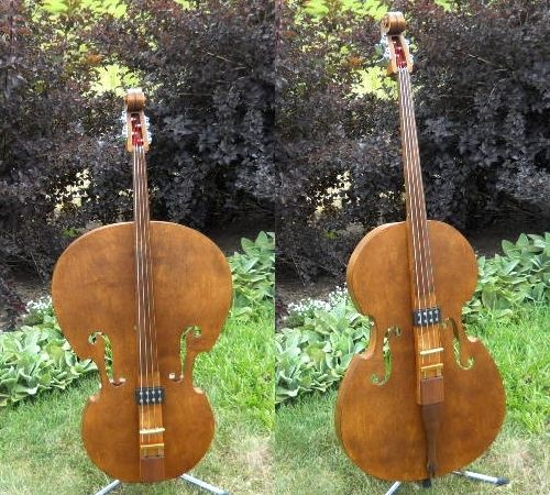 bluestem collapsible electric upright bass luthier bass acoustic music instruments. Black Bedroom Furniture Sets. Home Design Ideas