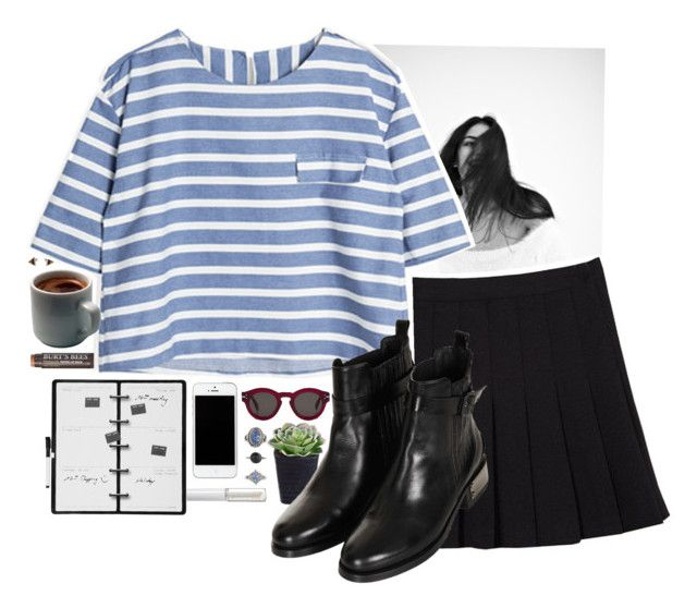 """""""Life is only a series of events"""" by redblossem ❤ liked on Polyvore featuring Topshop, Kikkerland, Lord & Berry, CÉLINE, Lovisa and Burt's Bees"""