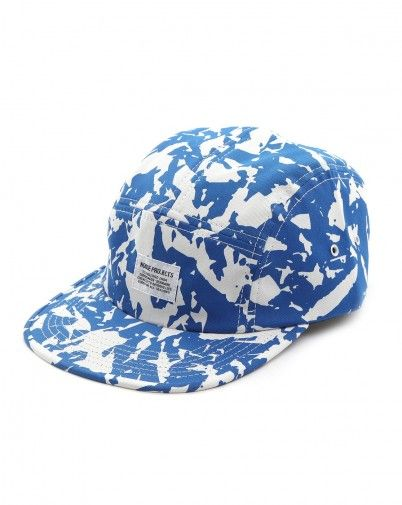 NORSE PROJECTS Broken 5 Panels Blue Cap $63.69