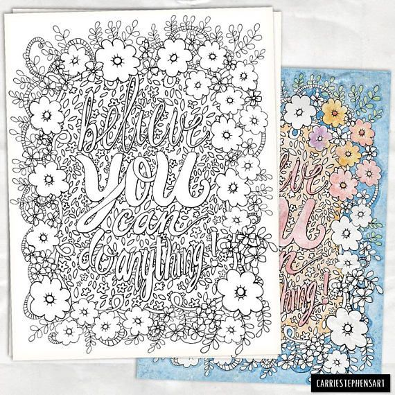 Coloring pages DIY Printable Colouring Page Hand Drawn Coloring Page - copy coloring pages for book of mormon