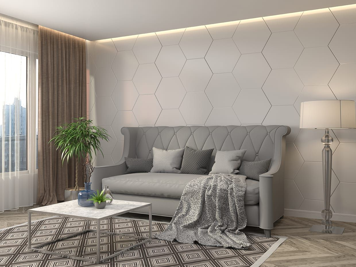 14 Attractive Tile Living Room Hexagon Tile Wall Tiles For Living Room Living Room Tile Intended For Ucwor Living Room Tiles Living Room Flooring Tile Bedroom