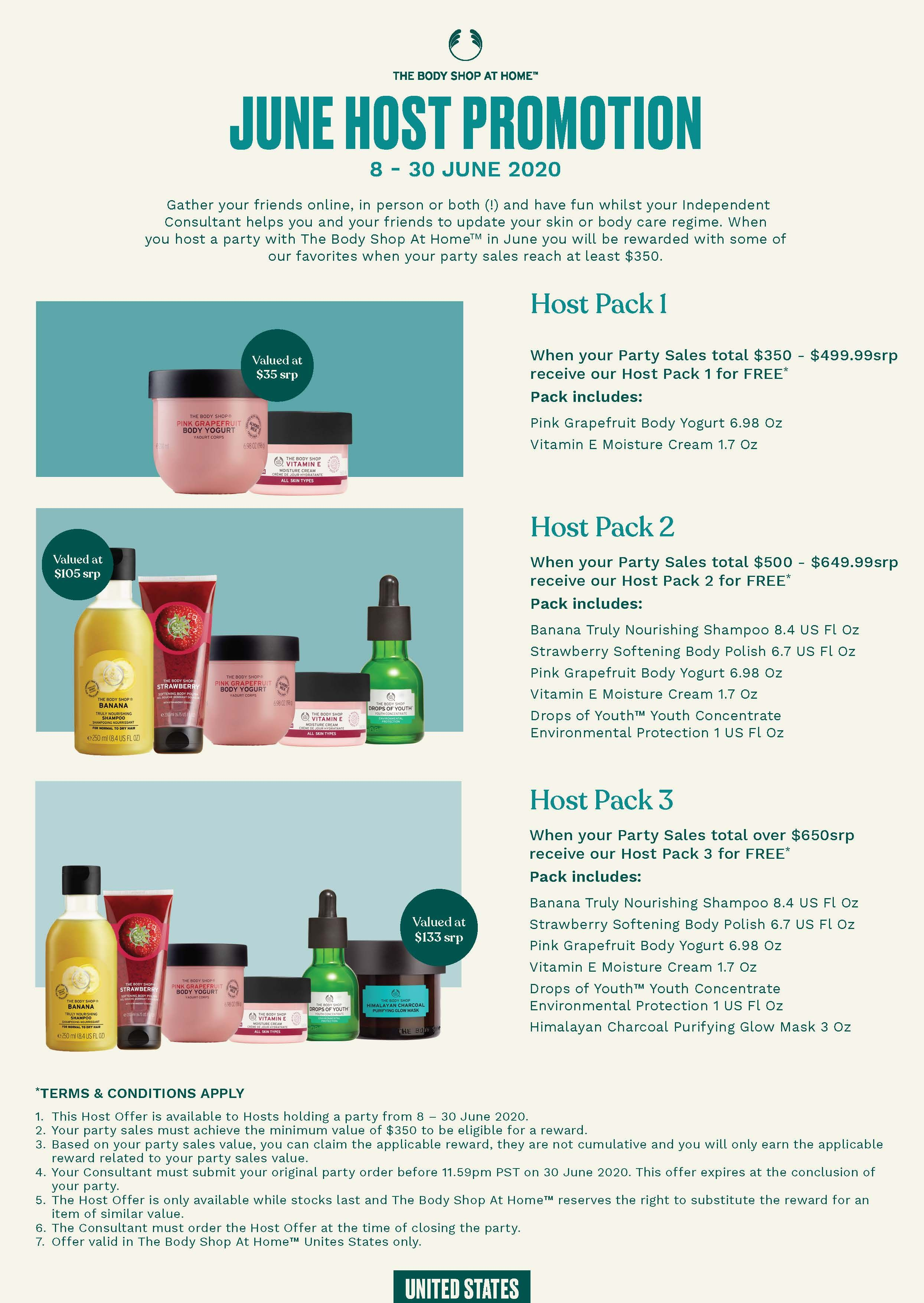 Host A Party And Earn These Body Shop Products Thebodyshop Skincare Pampering The Body Shop Body Shop At Home Body