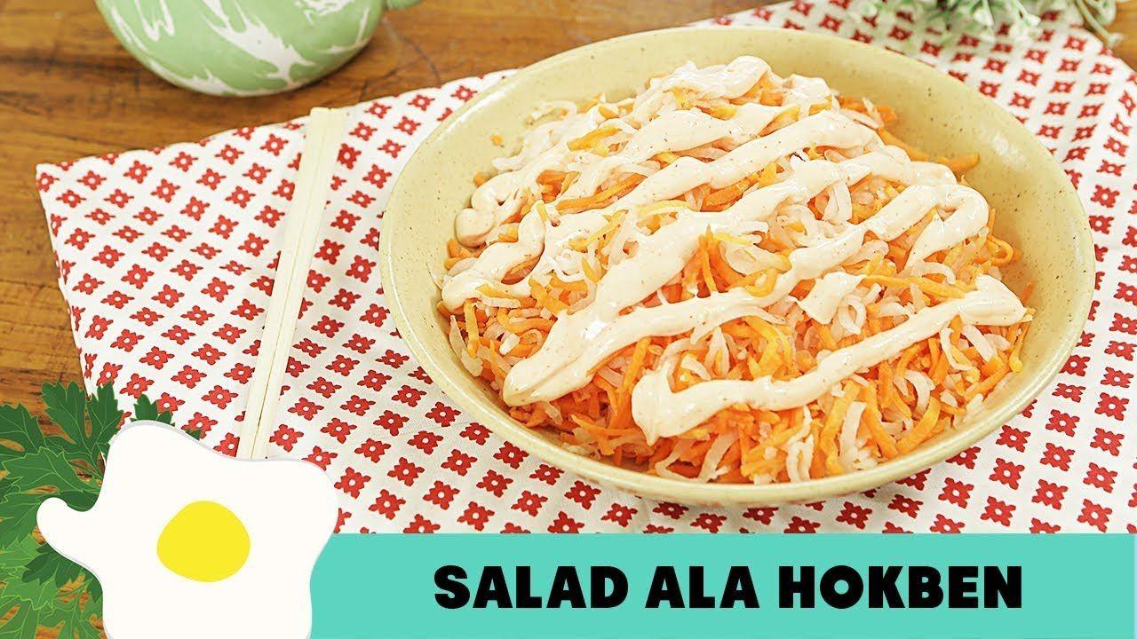 Resep Salad Ala Hokben Resep Salad Resep Makanan Ide Makanan