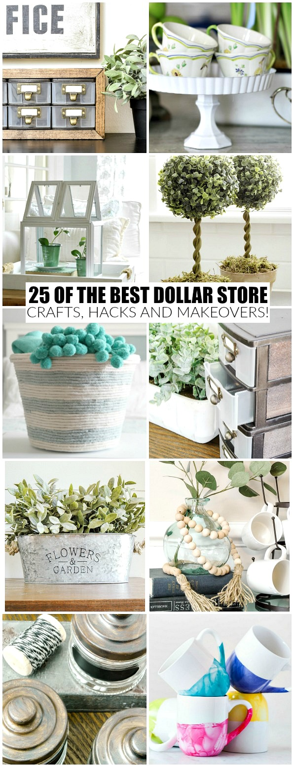 25 of the Best Dollar Store Crafts and Makeovers Ever