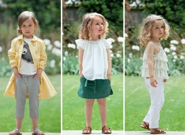 Que coisa mais fofa o lookbook da coleção Chloé SS2010 infantil…