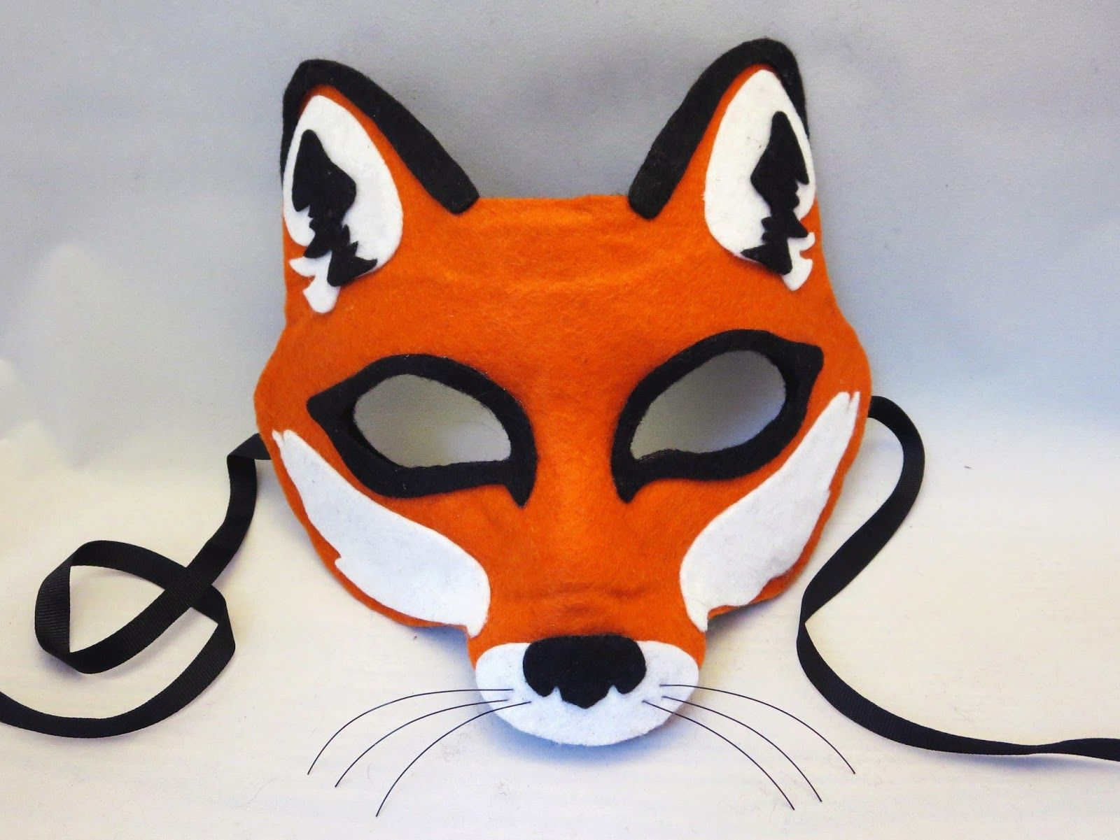 fantastic mr fox mask template - diy fox mask images galleries with a