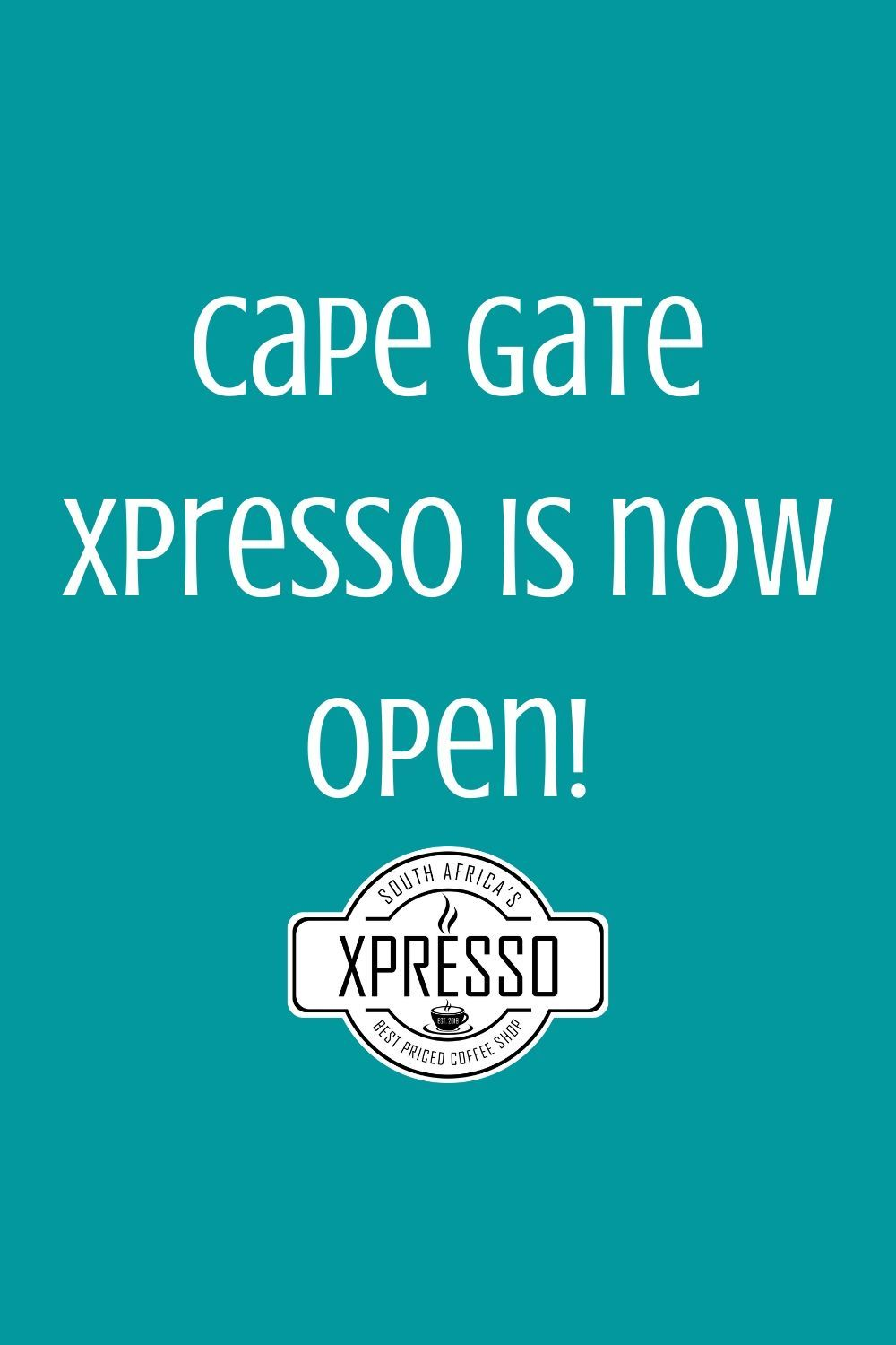 Go show your love for our Cape Gate Branch today, they're