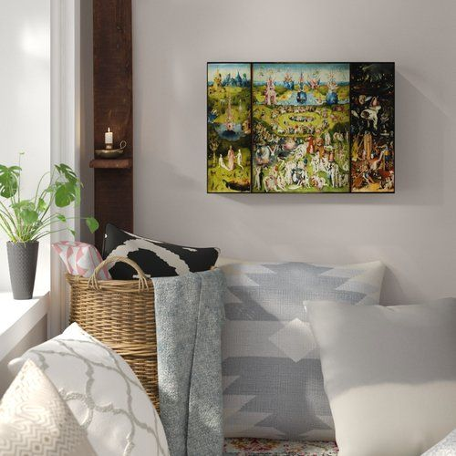 East Urban Home The Garden Of Earthly Delights By Hieronymus