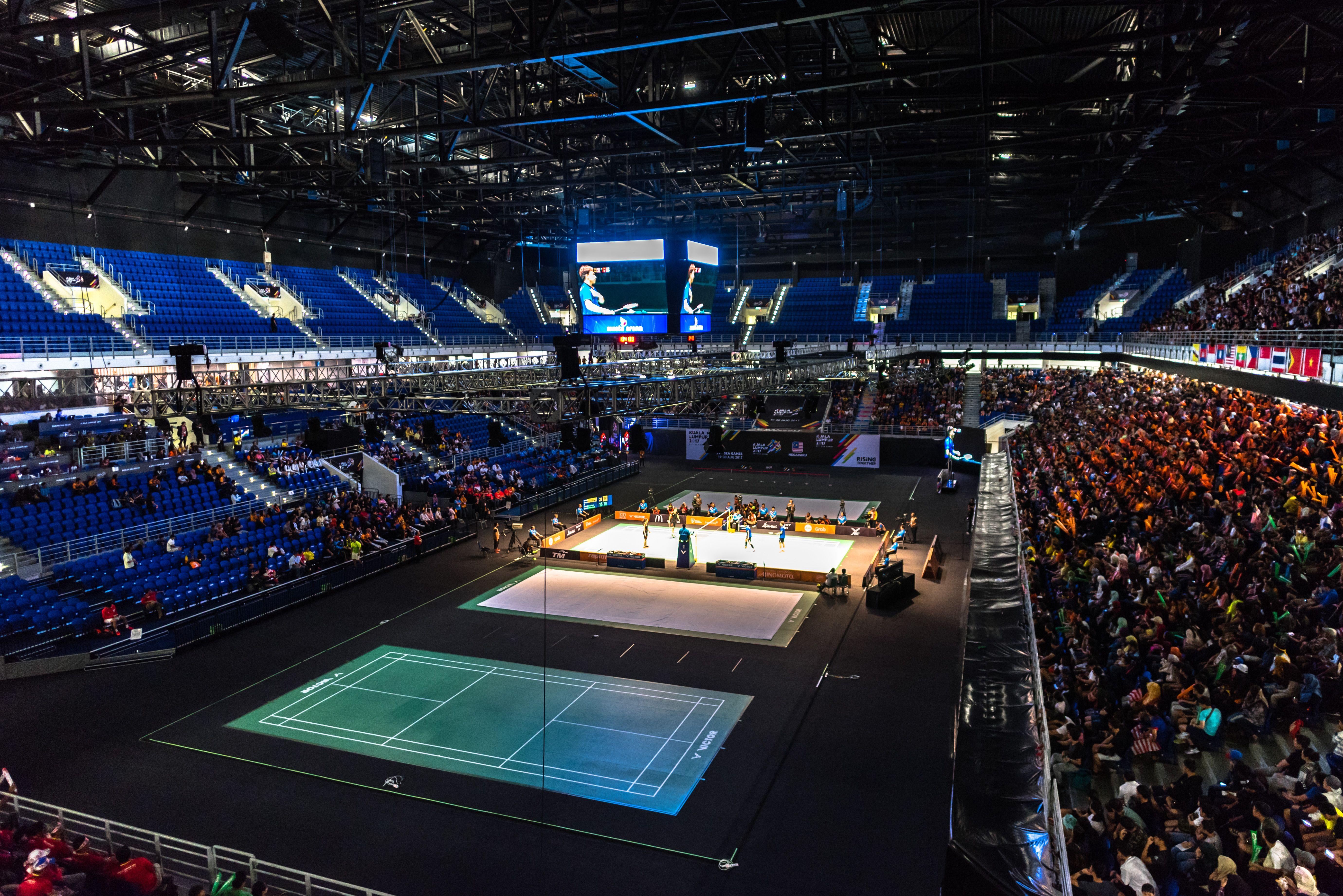 Axiata Arena Bukit Jalil Kuala Lumpur Malaysia Capacity 14 500 Arenas Stadium Arena