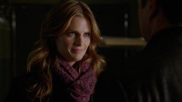 "Stana Katic as Kate Beckett in Castle Season 5 Episode 6 ""The Final Frontier"""