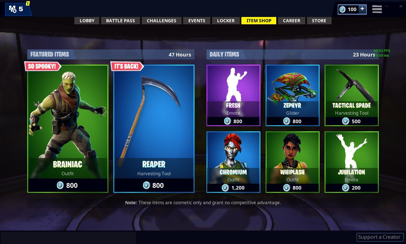 Fortnite Item Shop Featured And Daily Items Today The Fortnite Item