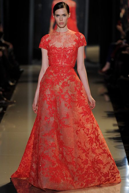 Spring 13 Couture  - beautiful... #style #Fashion #runway #couture #spring2013couture #eliesaab