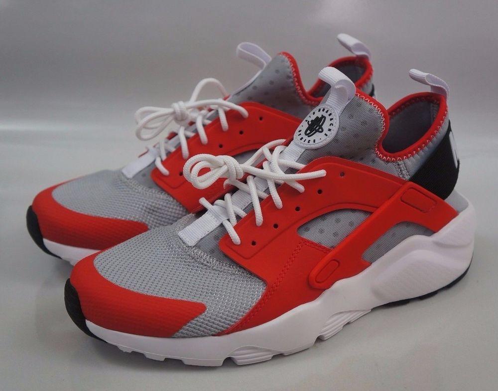 the latest cac4b 3e65a Nike Air Huarache Run Ultra SE Men Size 8 Max Orange Wolf Gray 819685 800   Nike  RunningCrossTraining