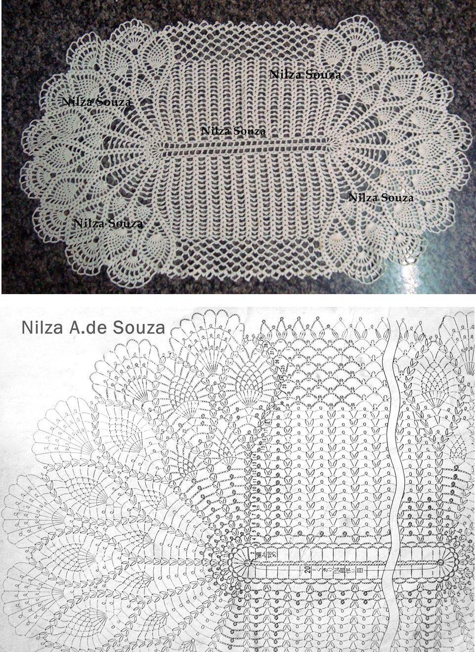 carpeta 4 | crochet, patrones gratis | Pinterest | Carpeta, Croché y ...